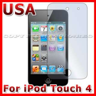 CLEAR LCD SCREEN PROTECTOR GUARD COVER FILM FOR APPLE IPOD TOUCH 4TH