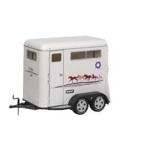Traditional Series Two Horse Trailer  Toys & Games