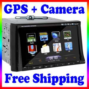 HD PIP Rotate Menu 7 In Dash Car DVD TV Player GPS Navigation Radio