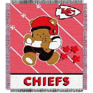 Kansas City Chiefs NFL Triple Woven Jacquard Throw (Baby
