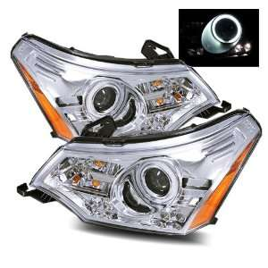 2008 2011 Ford Focus CCFL LED Projector Headlights (Black