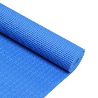 Blue 8mm PVC Magic Yoga Pilates Mat Gym Excersize Thick