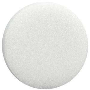 White Styrofoam Round Disc 6 diameter x 1 thick   Craft