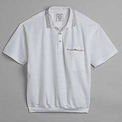 Mens Banded Bottom Polo Shirt  David Taylor Clothing Mens Shirts