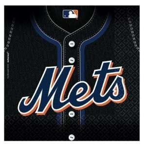 Costumes 203763 New York Mets Baseball  Lunch Napkins