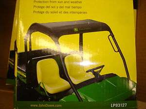 JOHN DEERE GATOR OPS (OPERATOR PROTECTION SYSTEM) SOFT COVER GREAT