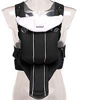 BabyBjorn Baby Carrier Active   Black/Silver   BabyBjorn   Babies R