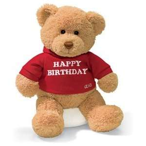 Happy Birthday Teddy Bear   12 By Gund 15412 Toys & Games