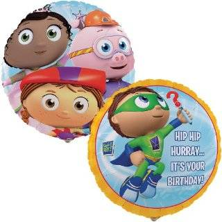 Super Why   Super Birthday Edible Icing Cake Topper Toys & Games