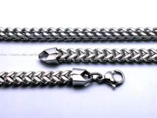 Men Cool Heavy Curb Chain Stainless Steel Link Bracelet SS022
