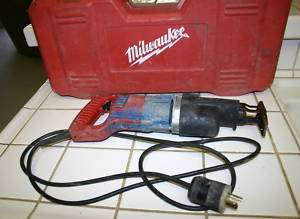 Milwaukee Heavy Duty Reciprocating Saw Sawzall Case
