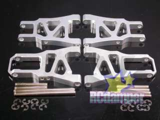 ALUMINUM FRONT+REAR LOWER SUSPENSION ARM S HPI SPRINT 2