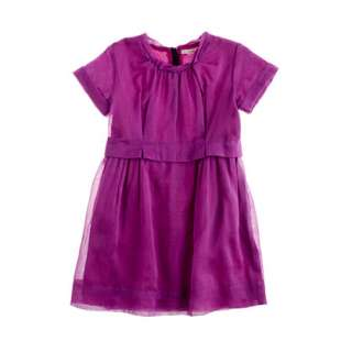 Girls organdy poppet dress   party   Girls dresses   J.Crew
