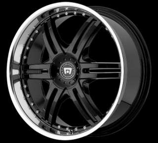 20 Inch Wheels Rims Black Ford Flex Edge Nissan Maxima
