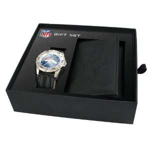 Mens NFL Denver Broncos Watch & Wallet Set Jewelry