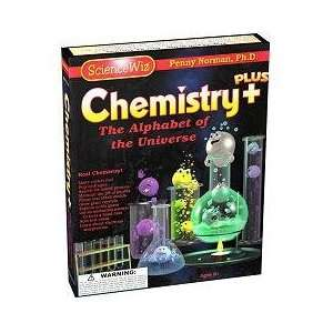 Science Wiz Kit Chemistry Plus Experiments Toys & Games