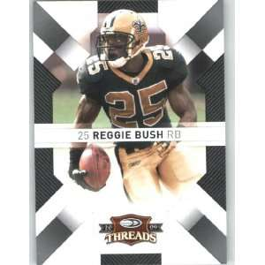 Reggie Bush   New Orleans Saints   2009 Donruss Threads