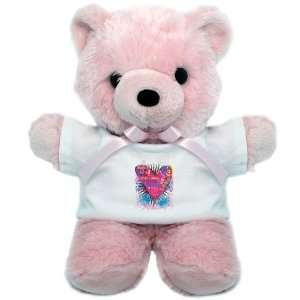 Teddy Bear Pink Hope Joy Believe Heart