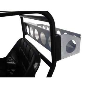 Xtras SXS PUR Aluminum Utility Rack For SXS Rear Roll Cage Automotive