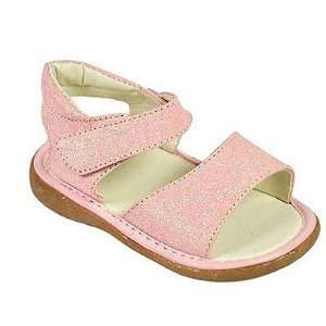 Wee Squeak Infant Baby Girls Shoes Pink Sparkle Sandals 4 9 Baby