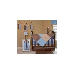 Nursery to Go Baby Boy Blue Crib Bedding Set (Baby Boy