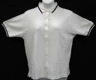 Ladies Womens Cotton Button down White Waffled Golf Polo Shirt PICK