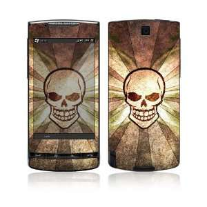 HTC Pure Decal Skin   Laughing Skull