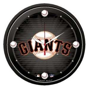 San Francisco Giants MLB Wall Clock