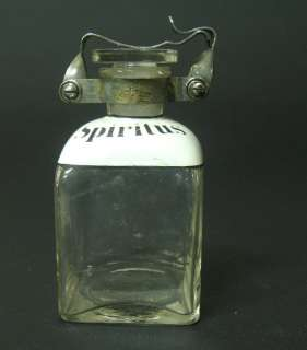 WW2 WWII SPIRIT GERMAN DRGM HAUPTNER GLASS BOTTLE