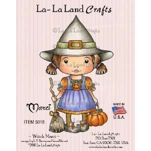 La Land Crafts Cling Rubber Stamp, Witch Marci Arts, Crafts & Sewing