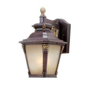 Hampton Bay Wall Mount Outdoor Augustain Bronze Lantern  DISCONTINUED