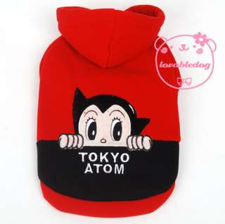 Red Dog TOKYO ATOM Coat Jacket Clothes Apparel XS S M L XL