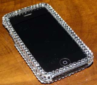 iPhone 3G/3Gs Strass BLING case Cover mit Swarovski