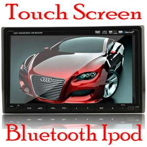 2012 hot 7touch screen double din car dvd stereo DVD PLAYER USA