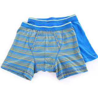 Fruit of the Loom Mens Boxers Sports Briefs Pants Underwear Blue White