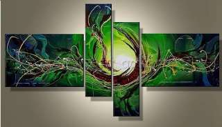 "HUGE WALL ART OIL PAINTING ON CANVAS  ""splashing Instant"""