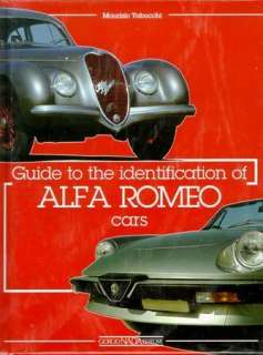 Guide to Identification of Alfa Romeo SPIDER GIULIETTA