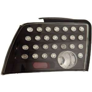Anzo USA 321026 Ford Mustang Black LED Tail Light Assembly   (Sold in