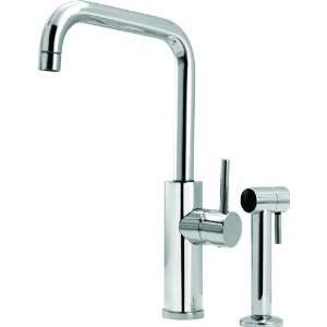 Aquabrass 3305SPC Polished Chrome Single Handle Kitchen Faucet
