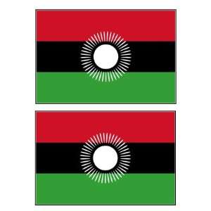 Malawian Flag Stickers Decal Bumper Window Laptop Phone Auto Boat Wall