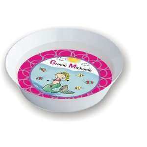 At Hand Stick Figures   Melamine Bowls (Water Girl)