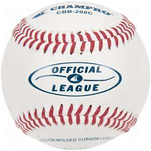 Champro Official League Leather Baseballs Sports