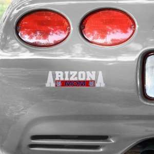 NCAA Arizona Wildcats Mom Car Decal