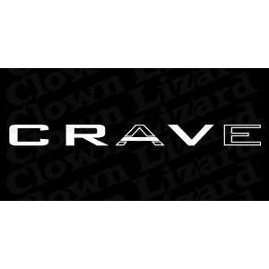 Honda Crave Windshield Vinyl Banner Decal 36 x 3