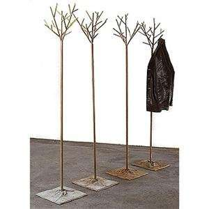 metal garden series stromek coat rack chrome plated by bohuslav horak