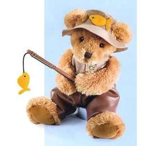 Beary Special Teddies Rod Fishing Teddy Bear #29908