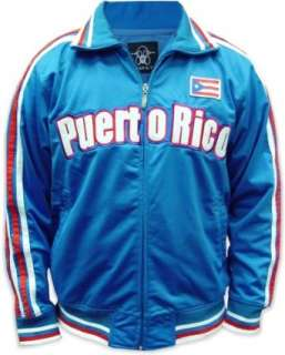 Puerto Rico International Olympic Soccer Track Jacket Clothing