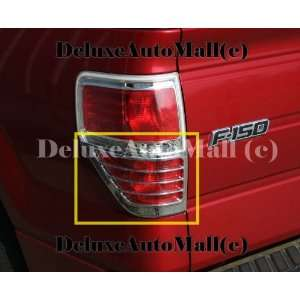 2009 2010 2011 Ford F150 F 150 Chrome Tail Light Trims Bezels (2PIECES