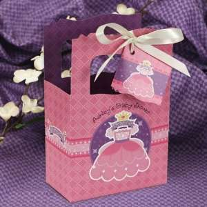 Princess   Classic Personalized Baby Shower Favor Boxes Toys & Games