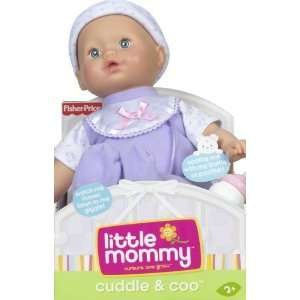 LITTLE MOMMY REAL LOVING BABY CUDDLE & COO Doll Toys
